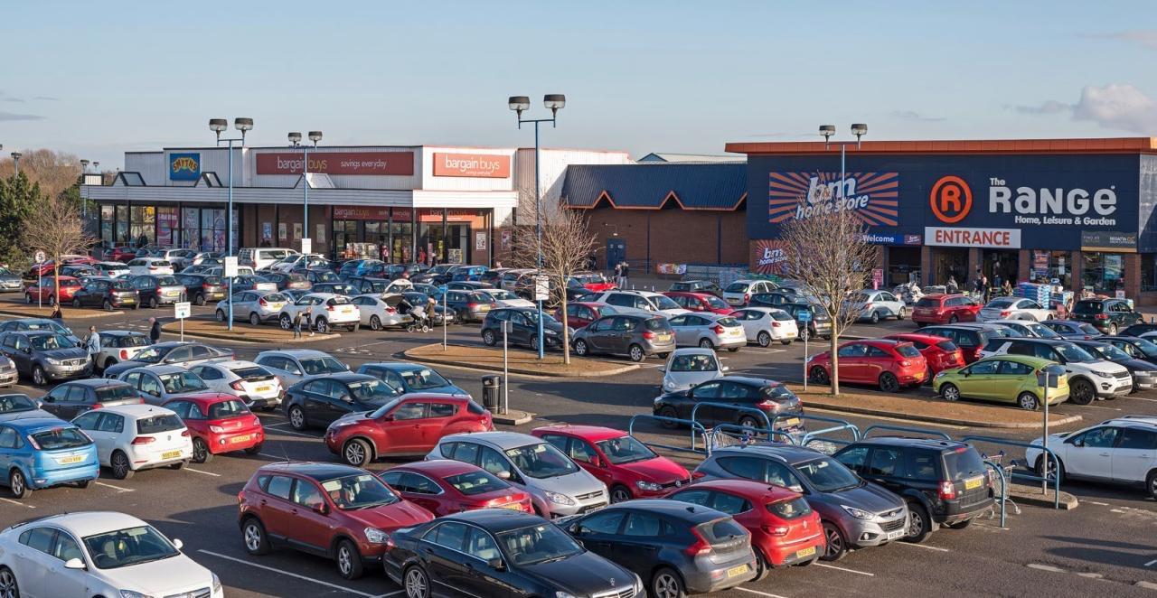 Has the door been opened by the recent sale of Stockton Shopping Park – tenants include B&M, The Range, Food Warehouse and Smyths Toys, all of which had decent lockdowns, has been sold for £9.5 million reflecting 9.40%. Average rent £7.56 psf and a WAULT of 6.5 years.